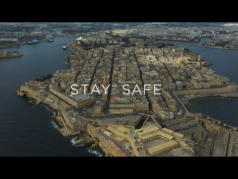 'The Silent Islands' - Malta during COVID-19 pandemic 4K