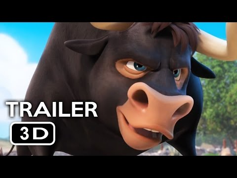 FERDINAND Trailer in 3D 2017 Animated Movie YT3D