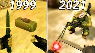 Evolution of Defusing the Bomb in Counter-Strike (1999-2018)