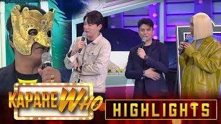 Haha Muhlach gives love advice to Vice, Vhong and Ryan   It's Showtime KapareWHO
