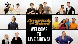 Welcome To The Live Shows! Top 36 Acts Of Season 13 - America's Got Talent 2018