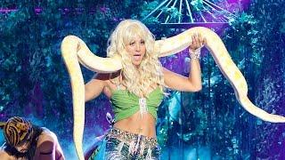 """Kaley Cuoco Channels Britney In EPIC """"I'm A Slave 4 U"""" & Josh Gad Tackles Trump- Lip Sync Battle"""