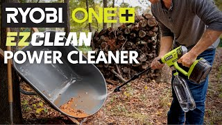 Video: 18V ONE+ 320 PSI EZClean Power Cleaner with 4.0AH Battery and Charger