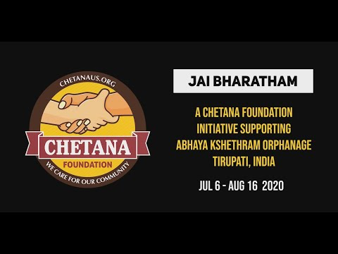 Chetana Foundation - Jai Bharatham Event Promo