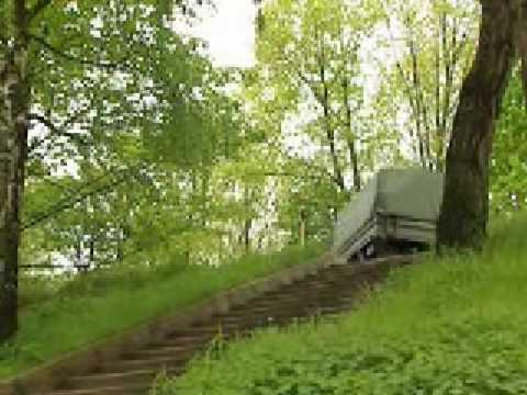 ウニモグの驚異的な登坂能力