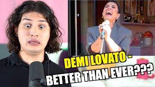 Vocal Coach Reacts to Demi Lovato's Tiny Desk