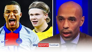 Kylian Mbappe or Erling Haaland? 🔥| Thierry Henry & Jamie Carragher share their thoughts