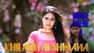 Movie Scene 4 - Khiladi Lakshmana (Lakshmana) - Hindi Dubbed Movie | Anup Revanna | Meghna Raj