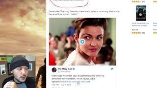 SJW's Drive Lesbian Actress, Ruby Rose, Off Twitter