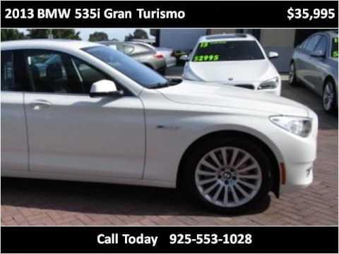 2013 BMW 535i Gran Turismo Used Cars San Ramon CA