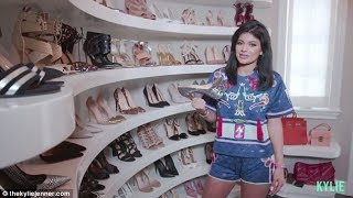[FULL VIDEO] Kylie Jenner | My Closet Tour | Bags and Shoes Collection | My Hermes + Chanel [2015]
