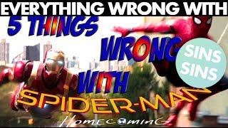 """Everything Wrong With """"5 Things WRONG With The Spider-Man: Homecoming Trailer"""""""