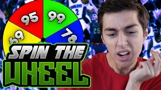 SPIN THE WHEEL OF THREE POINT RATINGS! NBA 2K17 SQUAD BUILDER