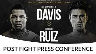 Gervonta Davis vs Hugo Ruiz POST FIGHT PRESS CONFERENCE