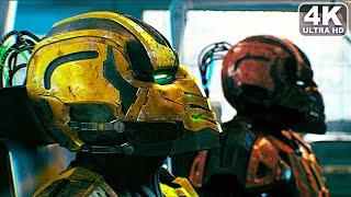 How Cyrax & Sektor Turned Into Cyborgs Scene 4K ULTRA HD - MORTAL KOMBAT
