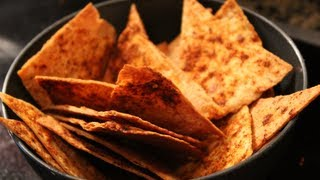 Easy Bodybuilding Snack:  Healthy Homemade Tortilla Chips