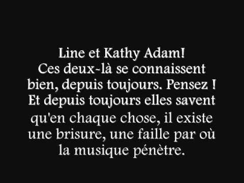 Line Adam  - Spices -  Kathy Adam et Line Adam