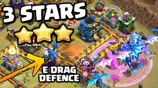 ELECTRO DRAGON 3 STAR at TOWN HALL 12 in Clash of Clans! Electro Dragon and Balloon Attack Strategy!