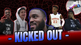 I Got KICKED OUT Of LeBron James Jr.'s Basketball Game At Crossroads!