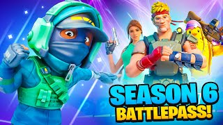 *NEW* SEASON 6 BATTLEPASS TIER 100 UNLOCKED!