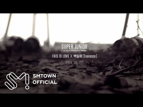 SUPER JUNIOR 슈퍼주니어 'THIS IS LOVE' X '백일몽 (Evanesce)' MV Teaser
