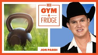 Jon Pardi Shows His Home Gym & Fridge On His Nashville Farm | Gym & Fridge | Men's Health