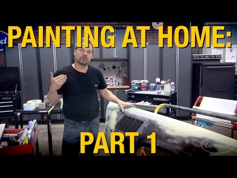 Must Have Tools For Painting A Car At Home Part 1 of 2 - Kevin Tetz & Eastwood