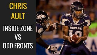 Inside Zone Basics vs Odd Front - Chris Ault