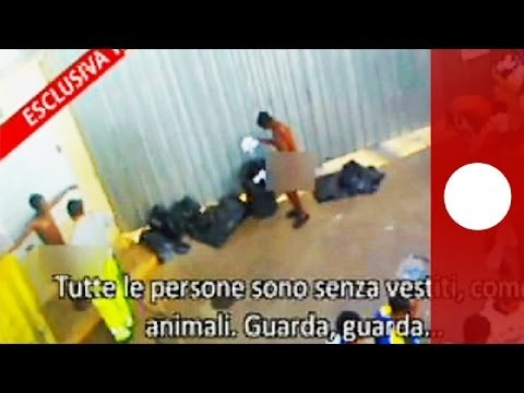 Outrage Over Video Of 'degrading Treatment' Of Lampedusa Migrants - Smashpipe News