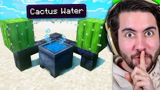 Testing Survival Hacks To See If They Work In Minecraft