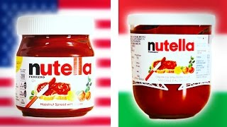 Italian Vs. American Nutella Taste Test