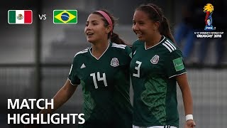 Mexico v Brazil  - FIFA U-17 Women's World Cup 2018™ - Group B