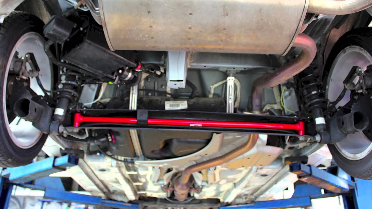 Todds Auto Body >> Toyota Matrix Suspension Rear Sway Bar Install - YouTube