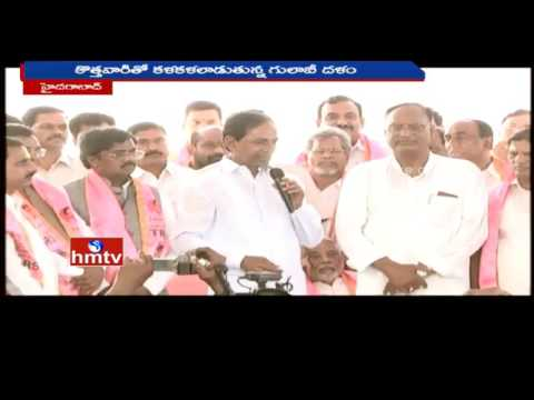 KCR for equal distribution of nominated posts among old and new members