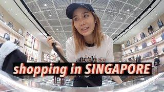 Shopping in Singapore: YSL, Balenciaga, & Gucci   #Vlogmas Day⑥