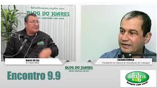 BJ Rádio Web entrevista presidente da Câmara de Vereadores de Camaquã, Luciano Cabeça