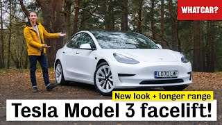 New 2021 Tesla Model 3 facelift review – ALL changes in detail!   What Car?