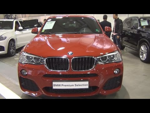 BMW X4 xDrive 20d (2016) Exterior and Interior in 3D