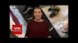 Are trainers (sneakers) the new political battleground? - BBC News