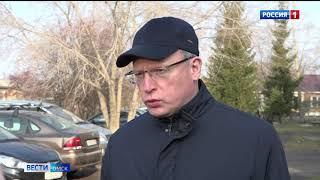 Александр Бурков в Любинском районе — специальный репортаж «Вестей»