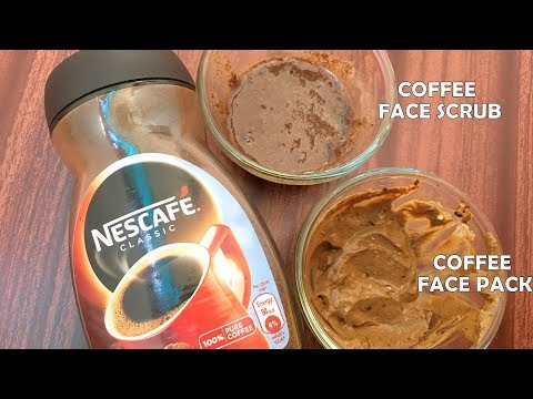 DIY Coffee Face Scrub & Mask | Reverses Sun Damage, Restores Aging Skin & Brightens Skin