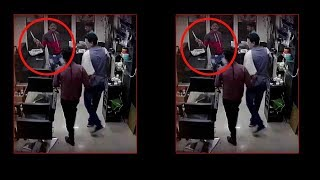 CCTV: Miscreants brandishing knives attack shop owners in MP's Indore