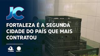 Fortaleza é a segunda cidade do país que mais contratou durante a pandemia