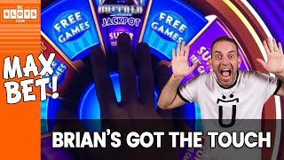 🎡MAX BET w/ Brian's Magic Touch ✦ BCSlots