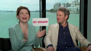 Pet Sematary's Jason Clarke and Amy Seimetz On Getting Stephen King's Approval