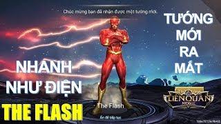 Tướng mới Siêu anh hùng The Flash nhanh hơn tia chớp đã về Liên quân [Mua và test ] Arena of Valor