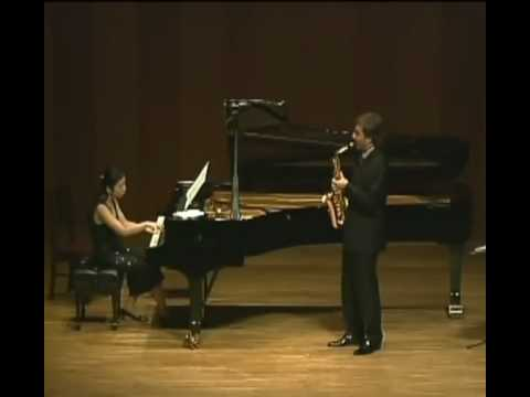 Miha Rogina Plays Scaramouche 1st mov by Milhaud