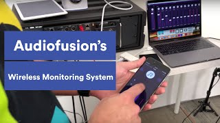Using Audiofusion Wireless Monitoring System with PRIME