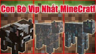 Nếu Bạn Có Được Con Bò Vip Nhất Minecraft**Sự Tiến Hóa Của Con Bò Và 2 Bố Con Noob