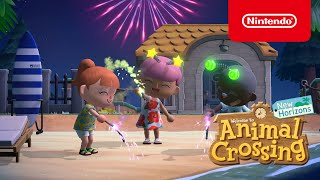The next summer update arrives July 30th in Animal Crossing: New Horizons! (Nintendo Switch)